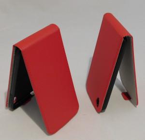 Pouzdro Forcell Slim Flip Flexi Alcatel One Touch IDOL 3 6039Y 4.7 Červené