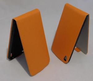 Pouzdro Forcell Flip Flexi Alcatel One touch IDOL 3 6045Y 5.5 Oranžové