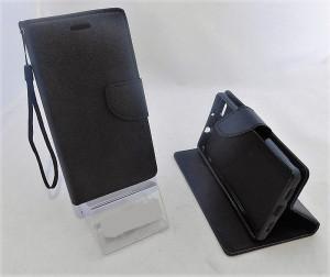 Pouzdro Fancy Book Huawei P8 Lite černé