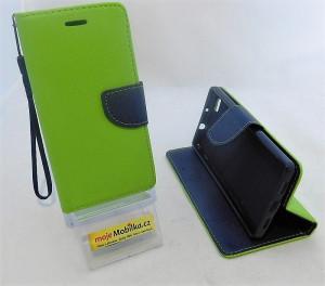 Pouzdro TEL1 Fancy Diary Huawei Ascend P8 Lite Lemon