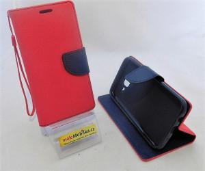 Pouzdro TEL1 Fancy Diary Samsung J500F Galaxy J5 Červené