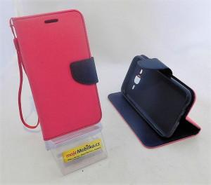 Pouzdro TEL1 Fancy Diary Samsung J500F Galaxy J5 Růžové