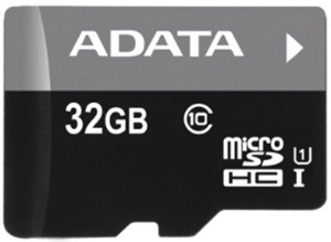 ADATA microSDHC 32GB Class 10 AUSDH32GUICL10-RA1