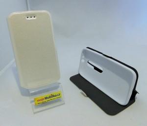Pouzdro Book Flexi Pocket Lenovo Moto G XT1541 Bílé