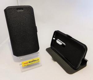 Pouzdro Book Flexi Pocket Lenovo Moto G XT1541 Černé
