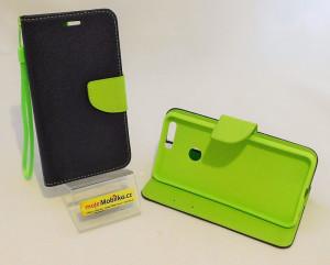 Pouzdro TEL1 Fancy Diary Huawei Honor 8 Modré