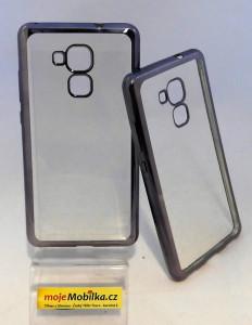 Pouzdro Bumper TPU Huawei Honor 5C/7 Lite Šedé