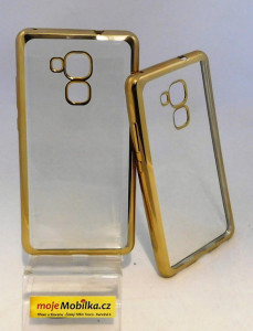 Pouzdro Bumper TPU Huawei Honor 5C/7 Lite Zlaté