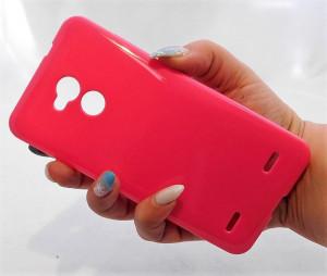 Pouzdro Jelly Case pro ZTE Blade V7 Lite Růžové