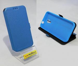 Pouzdro Book Flexi Pocket Vodafone Smart Turbo 7 Světle modré