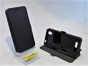 Pouzdro Book Flexi Pocket ZTE A452 Černé