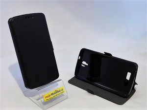 Pouzdro Book Flexi Pocket ZTE Blade L5 Černé