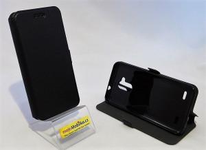 Pouzdro Book Flexi Pocket ZTE Blade V7 Lite Černé