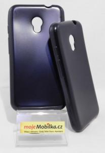 Pouzdro Jelly Case Flash Mat pro Vodafone Smart Turbo 7 Černé
