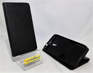 Pouzdro Smart Magnet Vodafone Smart Turbo 7 Černé