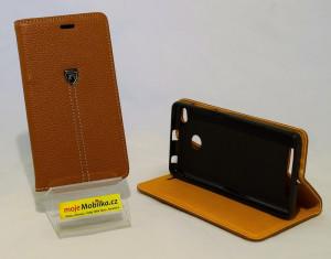 Pouzdro WALLET BUSSINES Xiaomi Redmi 3 Hnědé