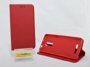 Pouzdro Smart Magnet Xiaomi Redmi Note 3 Červené