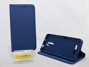 Pouzdro Smart Magnet Xiaomi Redmi Note 3 Modré