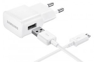 EP-TA20EWE + EP-DG925UWE Samsung Quick Charge microUSB Cestovní dobíječ White
