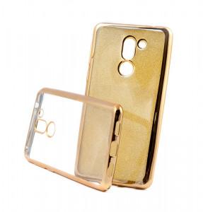 Pouzdro Glitter Case Elektro Honor 6X Zlaté
