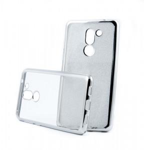 Pouzdro Glitter Case Elektro Honor 6X Stříbrné