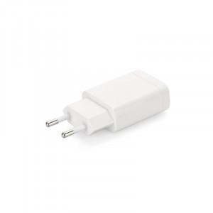 Nabíječ cestovní Forcell USB 2,4A, 1xUSB, Quick Charge 3.0 bílá (BLISTR8