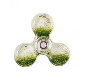 Fidget Spinner WATER barva zelená