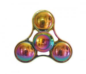 Barevný fidget spinner Kruhy