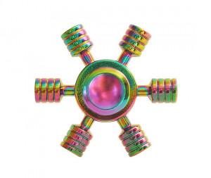 Barevný fidget spinner Ufo