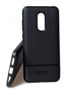 Pouzdro Rugged Carbon Xiaomi Redmi 5 Plus Černé