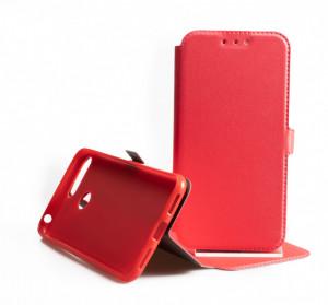 Pouzdro Book Flexi Pocket Honor 7A Červené