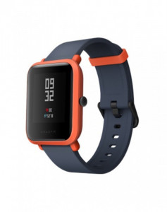 Xiaomi Amazfit Bip chytré hodinky, Cinnabar Red 472780
