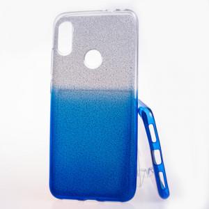Pouzdro Shine Case pro Xiaomi Redmi Note 7 Modré