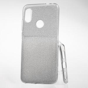 Pouzdro Shine Case pro Xiaomi Redmi Note 7 Stříbrné