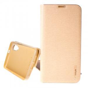 Pouzdro Vennus Book Xiaomi Redmi Mi 9 Zlatá