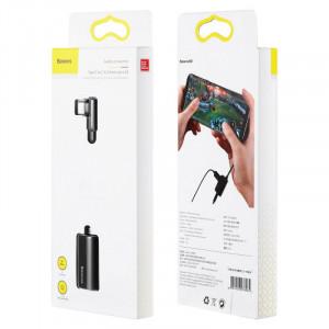 Baseus CATL45-01 adaptér pro USB-C / 3,5mm jack / USB-C černý