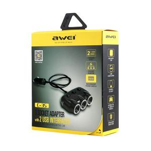 Awei C-35 2x USB 6954284045353