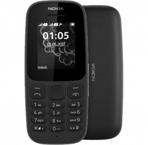 NOKIA 105 DS 2019 Black