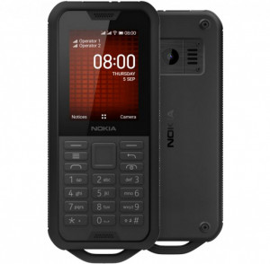 NOKIA 800 4G DS Black
