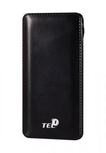 Tel1one Power bank 12000 mAh Black