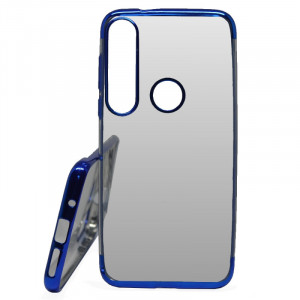 Pouzdro Elegance Motorola G8 Plus Modré
