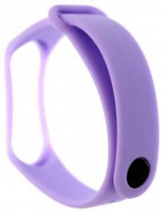 Tactical 519 Silikonový Řemínek pro Xiaomi Mi Band 3/4 Violet (EU Blister)