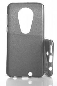 Pouzdro Glitter 3V1 Case Motorola Moto G7 Černé