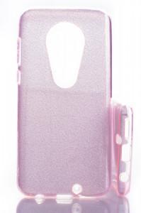 Pouzdro Glitter 3V1 Case Motorola Moto G7 Růžové