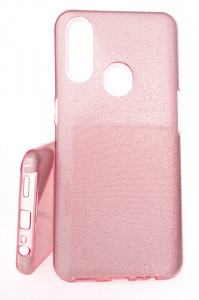 Pouzdro Glitter 3V1 Case OPPO A31 Růžové
