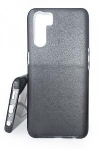 Pouzdro Glitter 3V1 Case OPPO A91 Černé
