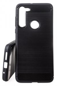 Pouzdro Forcell CARBON na Motorola Moto G8 Černé