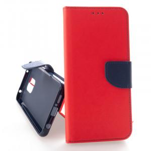 Pouzdro FANCY BOOK Xiaomi Redmi Note 9 Pro / Note 9 Pro Max / Note 9S Červené