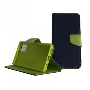 Pouzdro TEL1 Fancy Diary Samsung Galaxy A51 A515 Modré