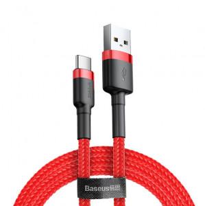 Baseus CATKLF-U09 USB - USB-C, 2A, 3m, červený